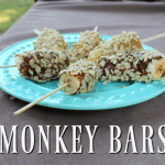 Monkey Bars ~ A Fun Snack Made with the New Lara Nut Butters!