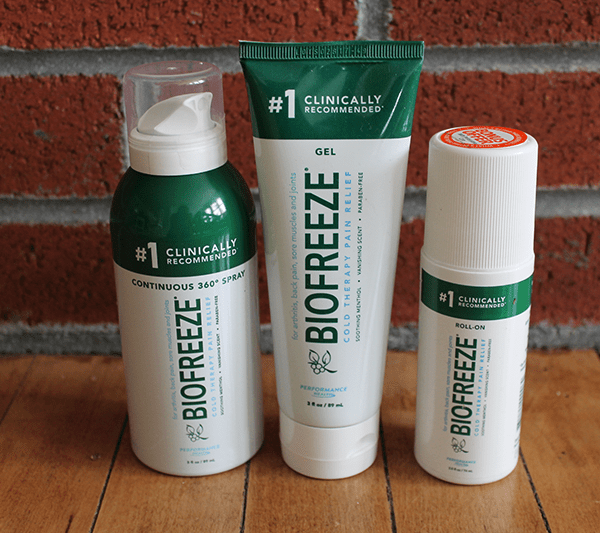 Easing Post-Workout Soreness with Biofreeze