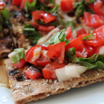 Bruschetta with Wasa Crispbread