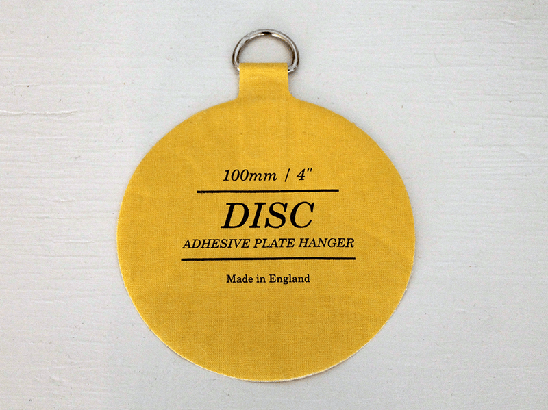 Disc-Plate-Hanger & The Easiest Way to Hang Decorative Plates on Your Wall - Thirty ...