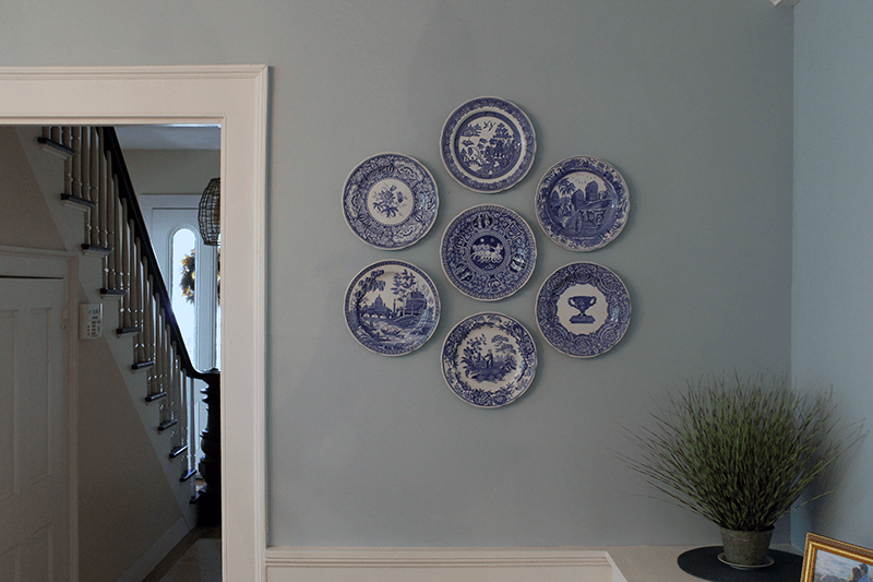 The Easiest Way to Hang Decorative Plates on Your Wall - Thirty ...