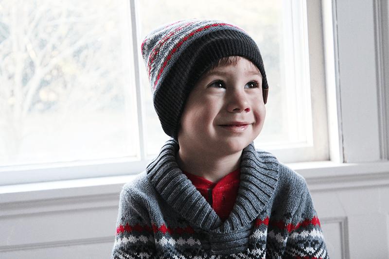OskKosh-FairIsle-Sweater-and-Beanie-outfit