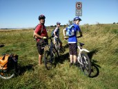 The group on the Ridgeway