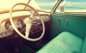 We love classic cars inside and out