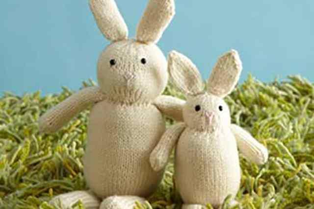 DIY Easter Bunny Knit Pattern