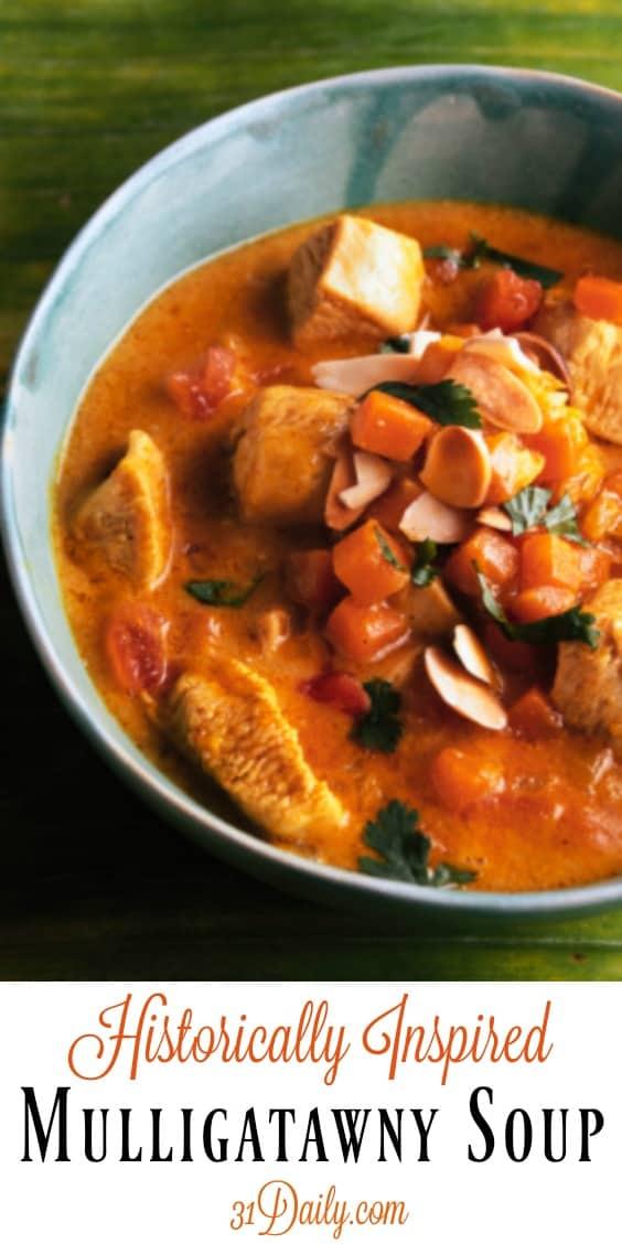 Historically Inspired Indian Mulligatawny Soup   31Daily.com