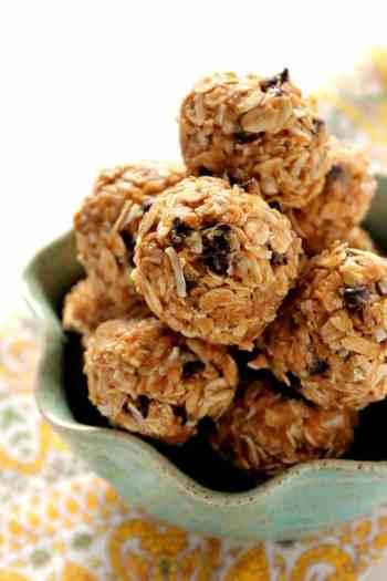 #1 Pin - Healthy Snacks: Peanut Butter Energy Bites