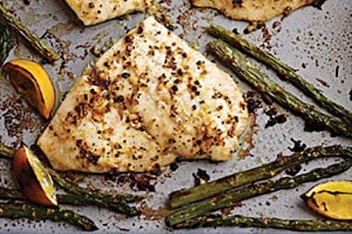 Quick & Easy Baked Flounder with Fresh Lemon Pepper