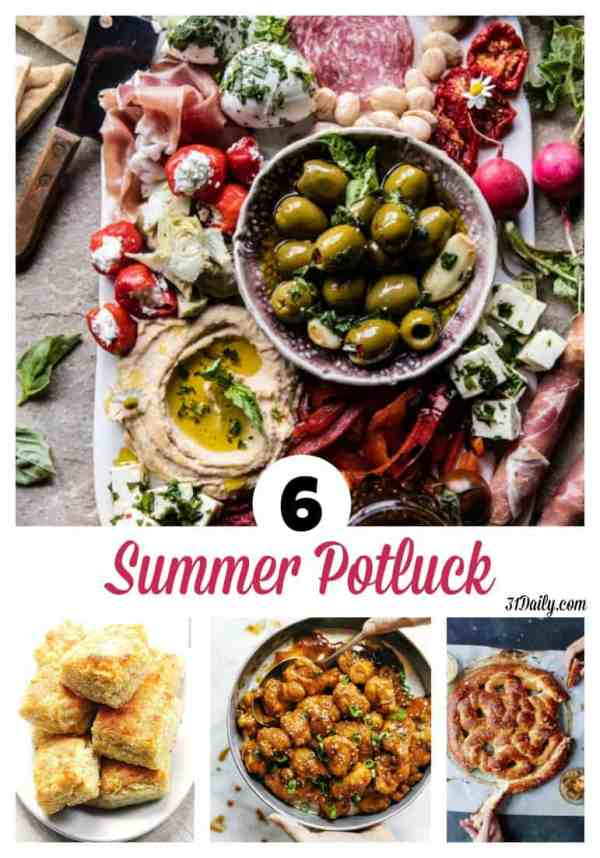 6 Summer Potluck Worthy Side Dishes at 31Daily.com