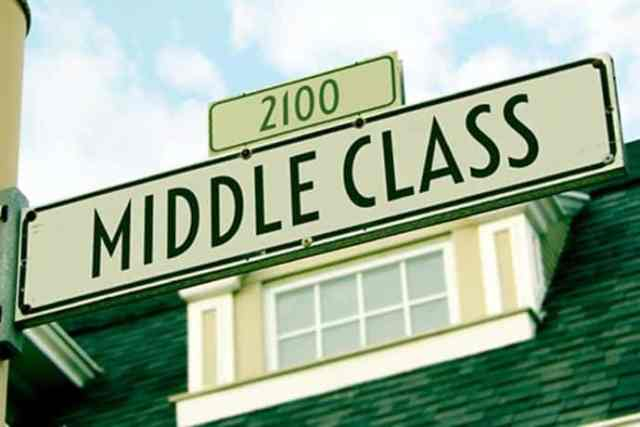 Are you in the American middle class?