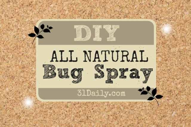 DIY: All-Natural Insect Repellent