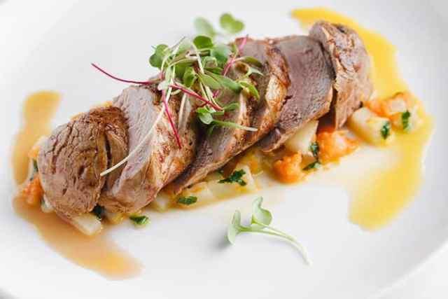 A Double-Duty Dinner: Spiced Pork Tenderloin with Pear Sauce