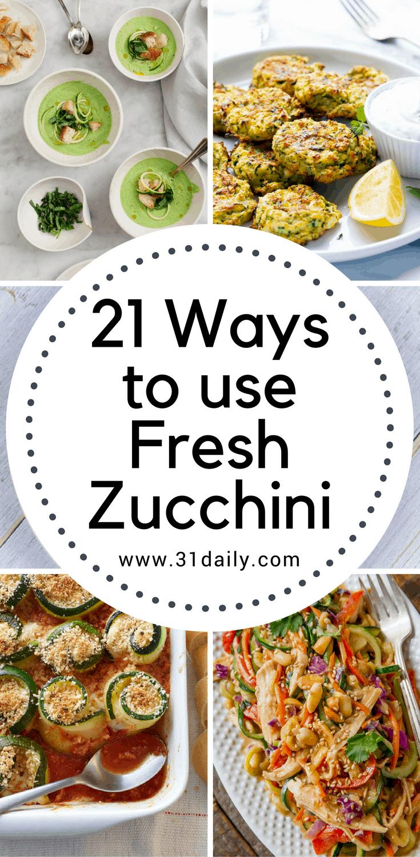 Fresh Zucchini Store What Best Way