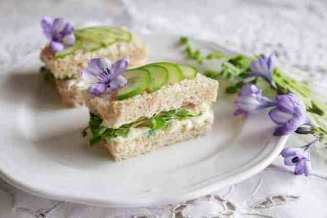 Easy Make Ahead Tea Sandwiches for Your Next Tea Party
