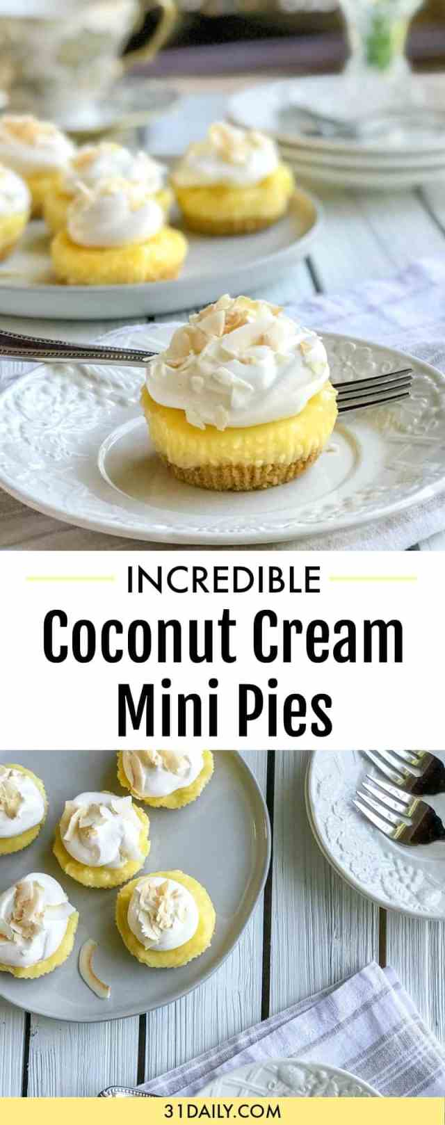 Coconut Cream Pie Bites, Perfect in Every Way | 31Daily.com