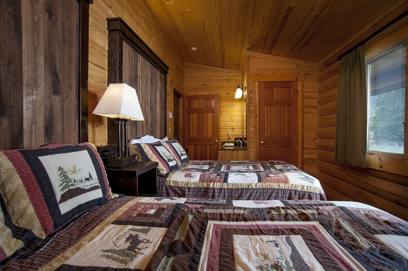 Montana Log Cabins Yellowstone Riverfront