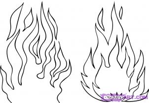 flames coloring pages # 13