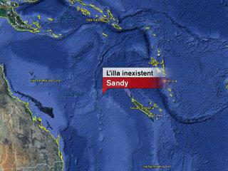 Localització de Sandy. Font: Google Earth