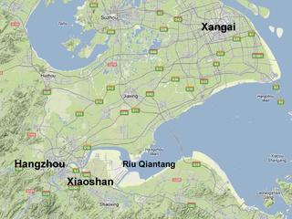 Mapa de la regió. Font: Google