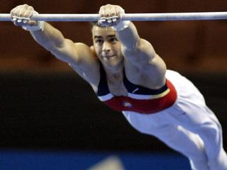 Imatge d'arxiu del gimnasta Andreu Vivó (Foto: Reuters)