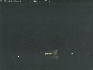 Imatge del vehicle denunciat captada pel radar dels Mossos.