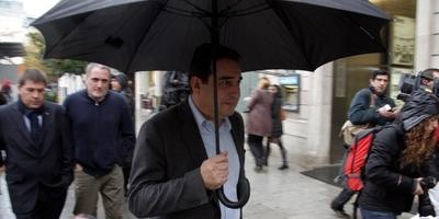 Manuel Bustos i el secretari d'organització del PSC, Daniel Fernández, entre d'altres, imputats en la trama de corrupció urbanística coneguda com a