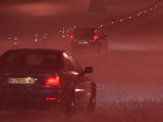 La pluja ha provocat molts problemes a les carreteres, especialment al Baix Camp.