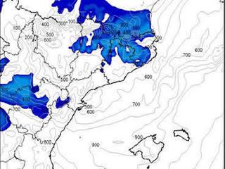 Mapa de neu. Font: WRF-TVC