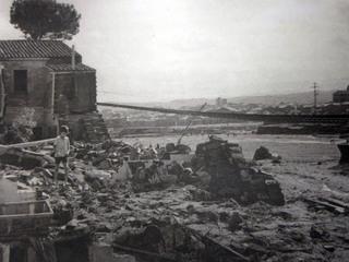 Terrassa, l'endemà de la riuada. (Font: Carles Duarte. Ajuntament de Terrassa)