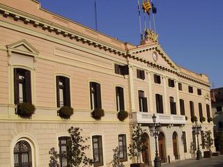 Façana de l'Ajuntament de Sabadell (Foto: ACN)