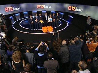 Els minuts previs al debat han estat marcats per un ambient distès.