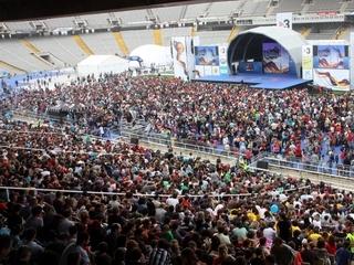 Més de 300.000 persones van anar a la Festa dels Súpers (foto: ACN)