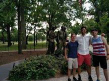 "Washington DC ""Vietnam War Memorial"""