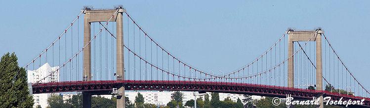 Photo panoramique pont d'Aquitaine Bordeaux