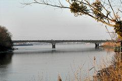 Pont François Mitterrand depuis la rive droite
