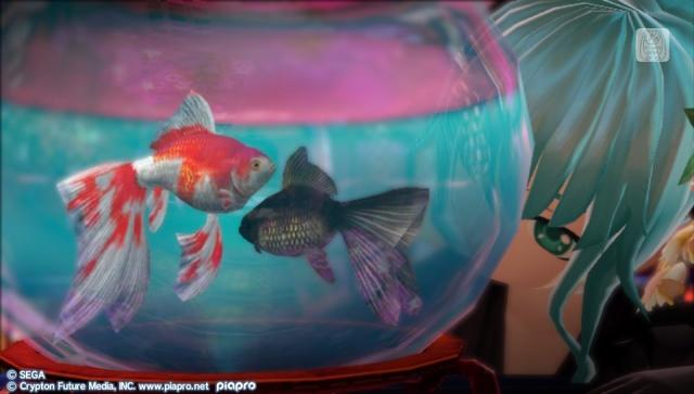Hatsune Miku Project Diva F2nd fish
