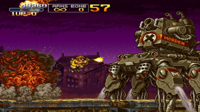 Metal Slug X boss