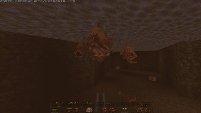 Quake underwater