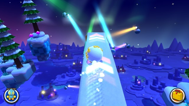 Sonic Lost World snowball