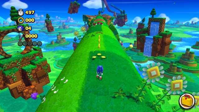 Sonic Lost World green zone