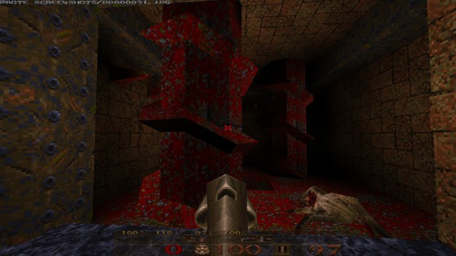 Quake: Scourge of Armagon blood