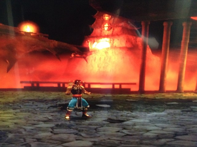 Mortal Kombat Shaolin Monks temple