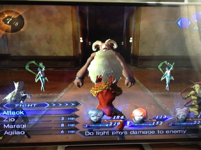 Shin Megami Tensei Digital Devil Saga demons