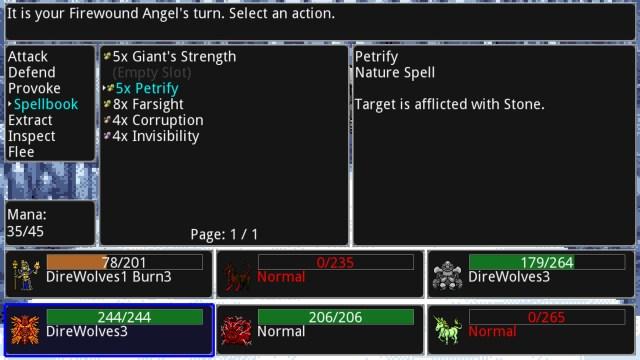 Siralim spells