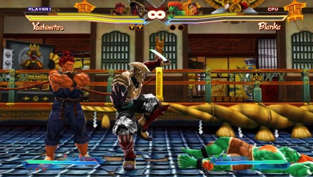 Street Fighter X Tekken victory