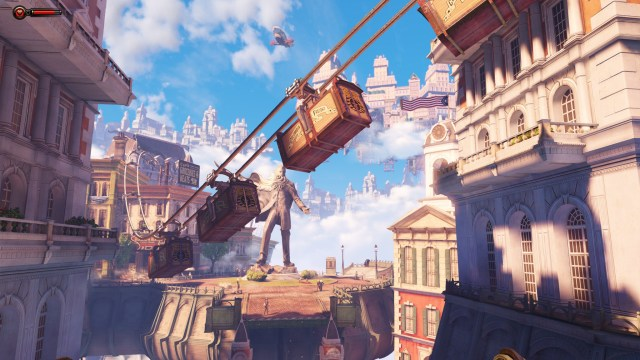 Bioshock Infinite skyline