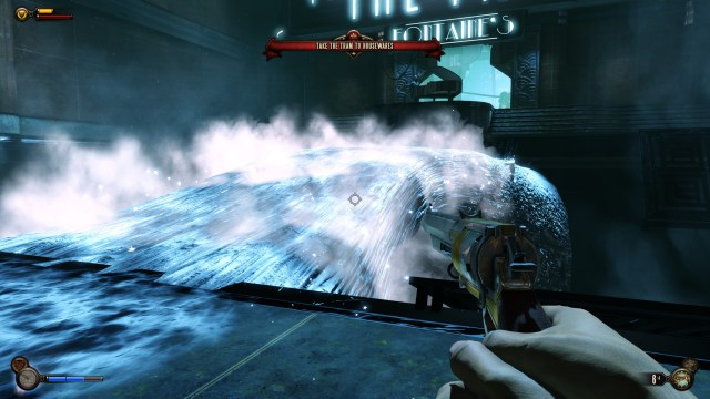 Burial at Sea new power