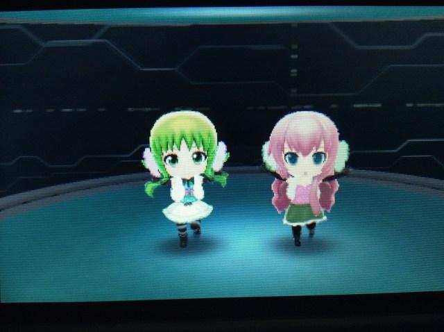 Hatsune Miku 3DS Characters