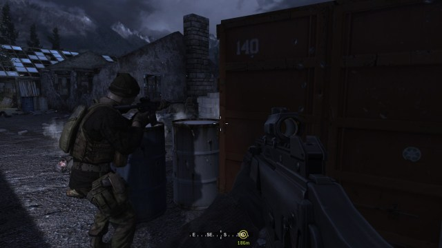 Call of Duty 4 Penetration