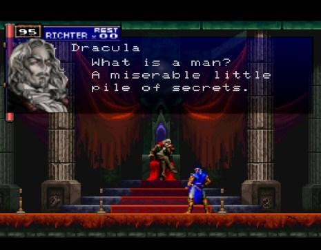 Castlevania Symphony of the Night Dracula